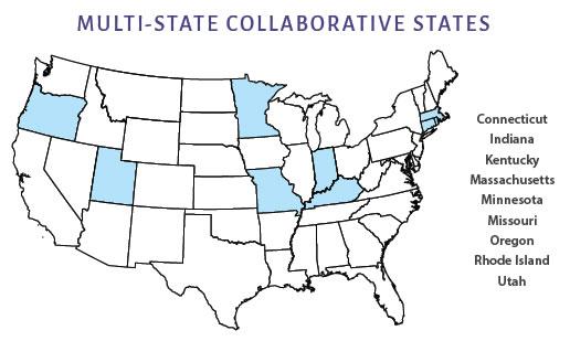 MSC States Map