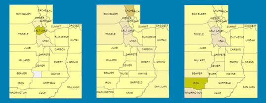 Utah by County