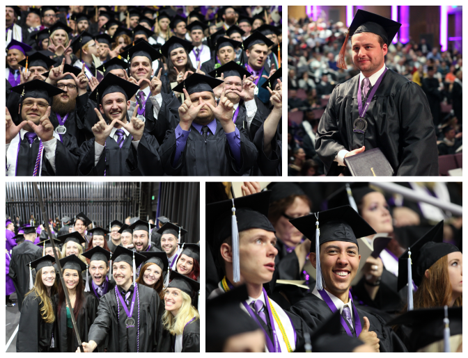 Weber State University Commencement 2017